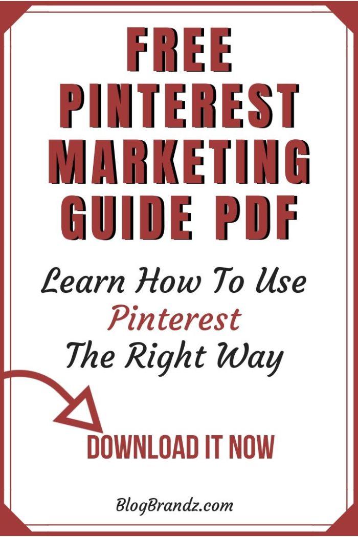 Pinterest Marketing Guide PDF